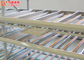 Customized Color Inventory Rack System With Adjustable Stainless Steel Structure