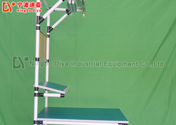 Lean Tube Production Industries Workbench , ESD Safe Workbench Assembly Line