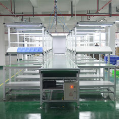 Fire Resistant Assembly Line Workstations DY18 , Anti Static Manual Assembly Line