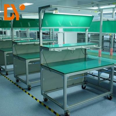 Flexible Assembly Line Work Tables DY25 With Low Power Consumption
