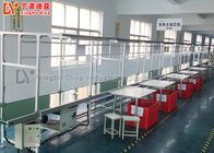 Aluminium Production Line Conveyor Tube Assembly Line With Independent Work Table