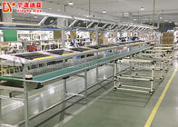 Parallel Conveyor Belt Line Assembly Line Roller Conveyors For Workshop Material Transfer