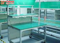 Double Layer Conveyor Belt Production Line , Aluminium Automatic Assembly Line