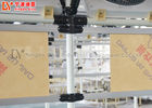 Double Side Production Industries Workbench , Assembly Line Pipe Work Table For Workshop