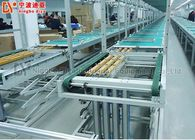 Multi Speed Slot Chain Conveyor , Plate Conveyor System Cost Effective