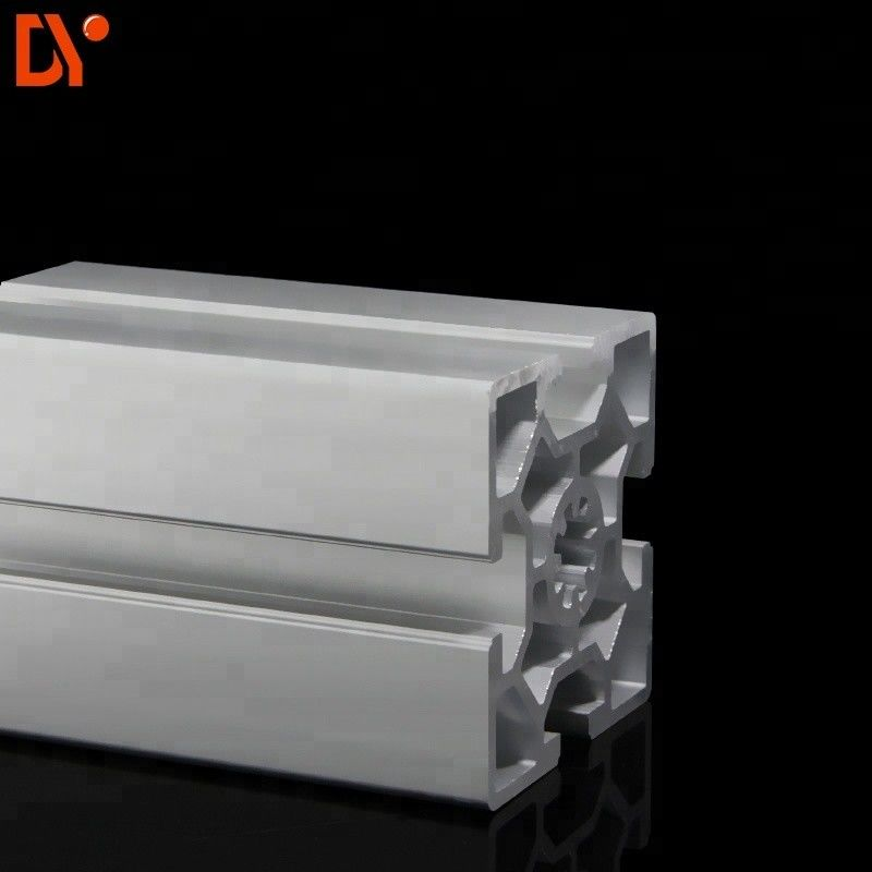 Square 6063 Extrusion Aluminium Tube Sections , Customized V