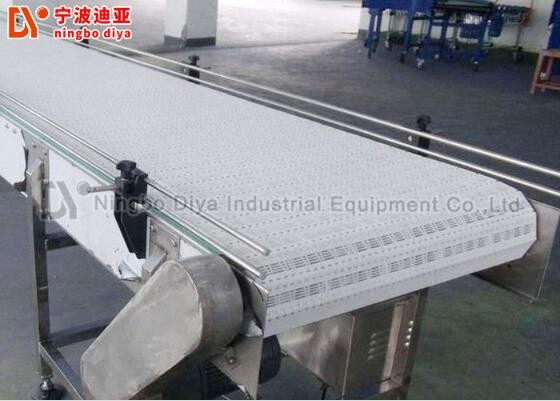 Aluminium Industrial Chain Conveyor With Powerful Rock Handling System