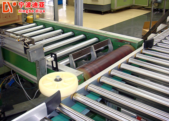Strong Belt Roller Conveyor Systems A3 Steel Pallet Roller Conveyor Transportation