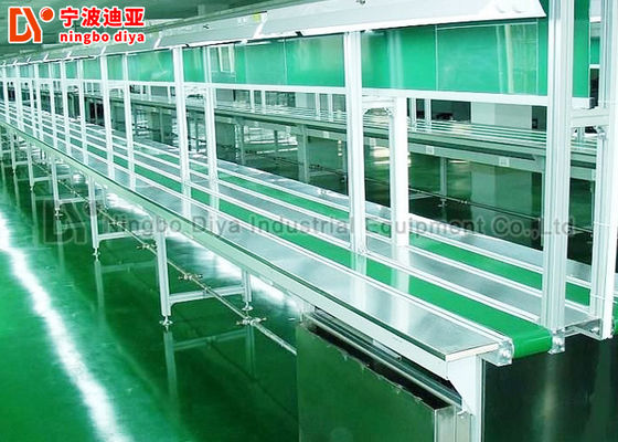 China Customized Production Line Conveyor Systems , Antistatic Assembly Line Worktable factory