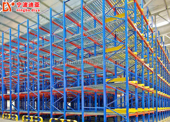 China High Capacity Warehouse Storage Rack Systems , Anti Corrosion Metal Rack Storage Systems factory