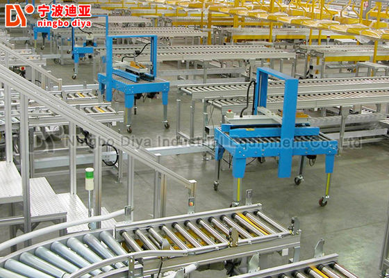 China Customized Color Inventory Rack System With Adjustable Stainless Steel Structure factory