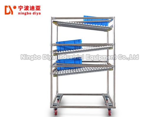 China Warehouse Storage Metal Storage Rack With High Strength Stainless Steel factory