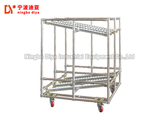 China Stainless Steel Sliding Track System Customized Length For Rack System factory