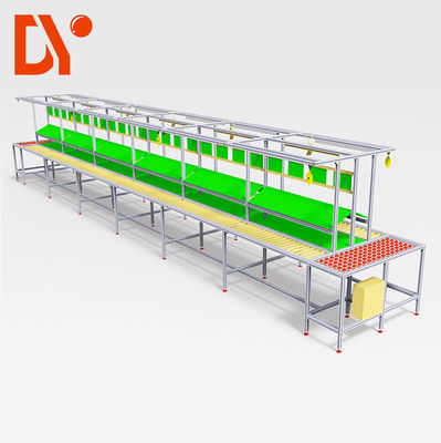 China Double Face Automated Assembly Line DY162 With Aluminum Alloy Frame factory