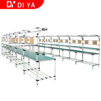 Industrial Assembly Line Workstations Production Line System DY165 For Workshop