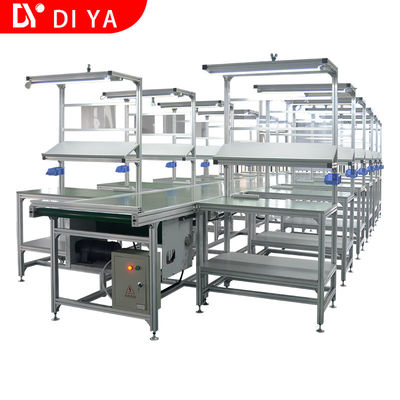 Professional Assembly Line Workstations DY4 , Aluminum Assembly Line Table / Workbench