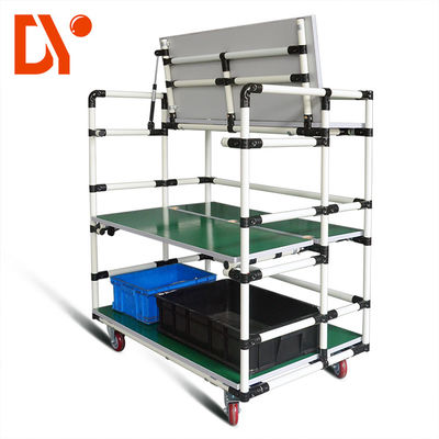 China Customized FIFO Storage Racks DY119 Rolling Storage Rack For Workshop factory