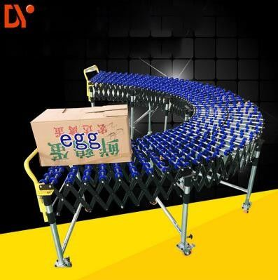China BC Chain Driven Roller Conveyor System , Flexible Roller Curve Conveyor Chain Transfer factory