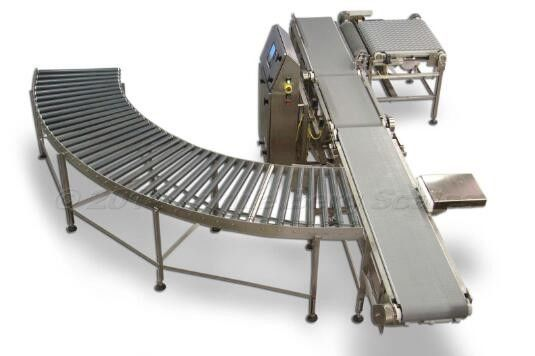 Customized Roller Conveyor System For Assembly Line / Airport / Logistic Sorter