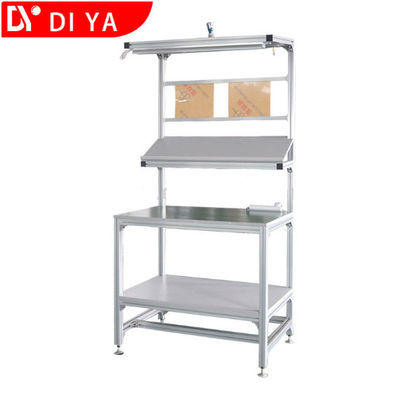 China Low Power Lean Assembly Workstations DY13 With Vertical Conveyor factory